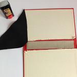 Clutch aus altem Buch basteln