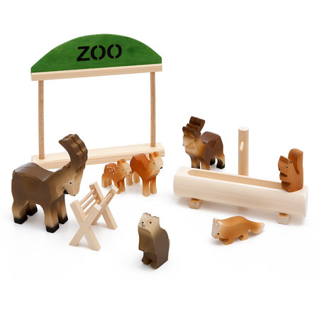 Alpenzoo Holzspielzeug