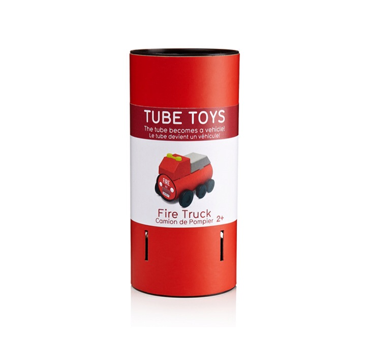 Bastelspielzeug Tube Toys von Oscar Diaz