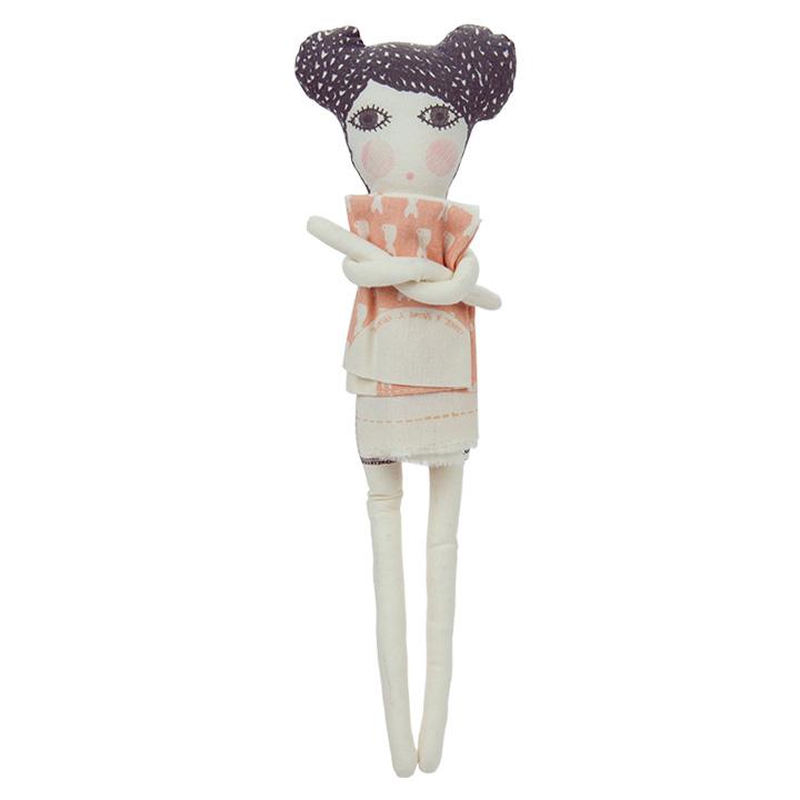 Severina Puppe aus biologischen Materialien