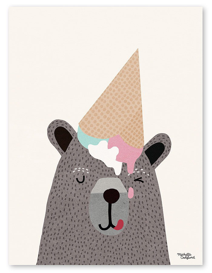 kindofmine_michellecarlslundillustration_artprint_bear_ice-cream