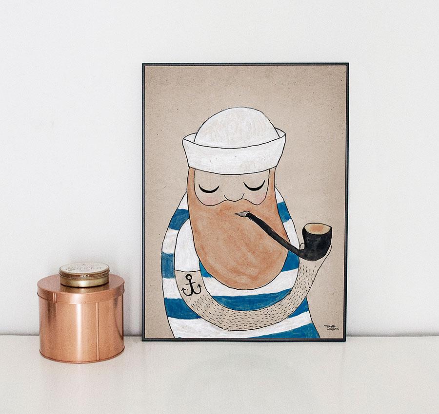 kindofmine_michellecarlslundillustration_artprint_sailor_mood