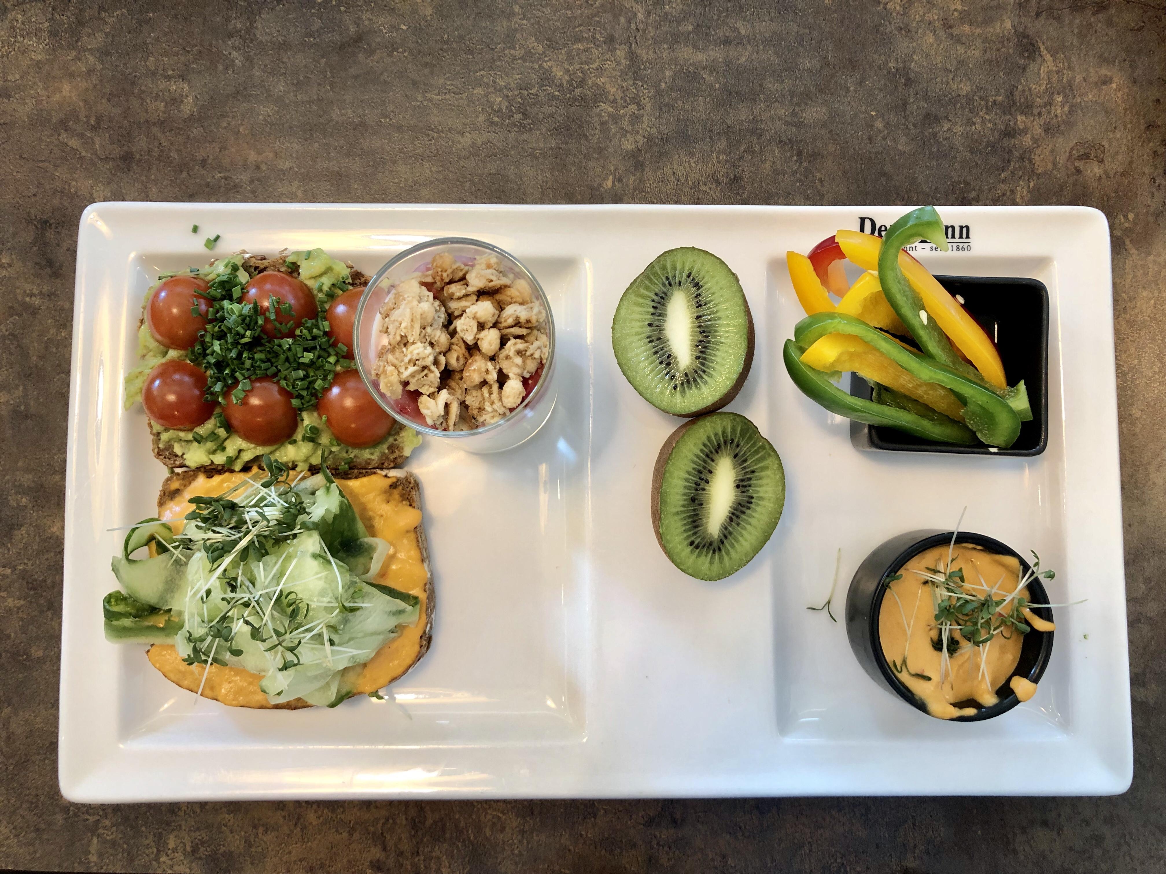 Veganes Frühstück Der Mann Perfektastrasse