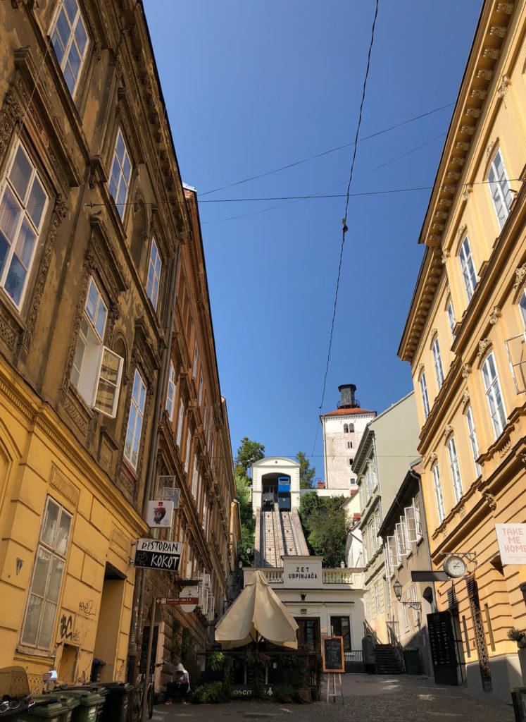Standseilbahn Funicular Zagreb